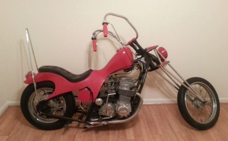 The Time Machine 1972 Honda CB750 Chopper