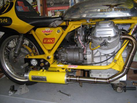The World's Fastest Moto Guzzi V7 Sport - Engine