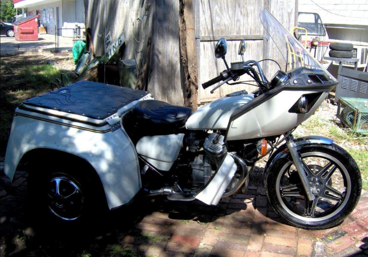 Built By Trident 1982 Honda Cx500 Trike Bike Urious