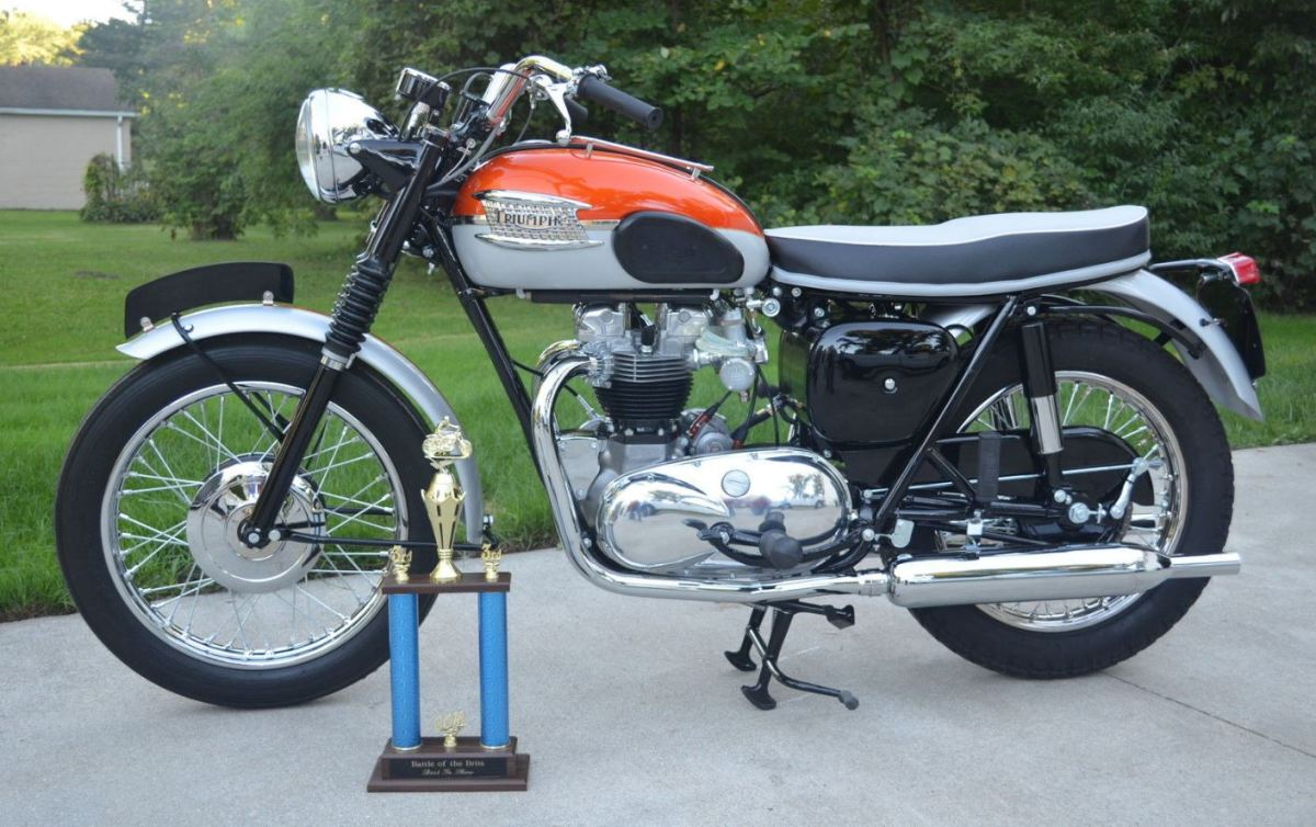 Trophy Winner - 1962 Triumph Bonneville