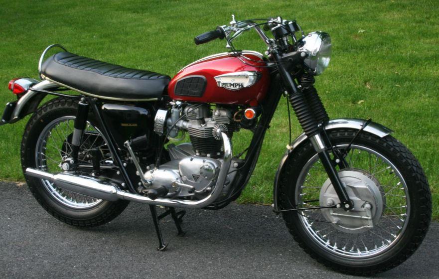 31 Miles 1968 Triumph Bonneville T120r Bike Urious