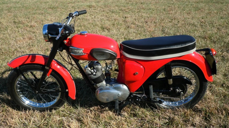 Triumph Tiger Cub - Left Side