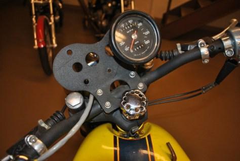 Triumph Tiger Daytona Racer - Gauges