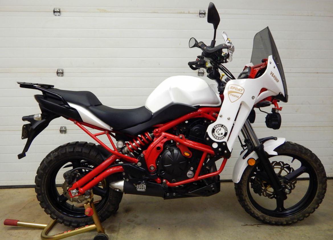 V649hp 2009 Kawasaki Versys Custom Bike Urious
