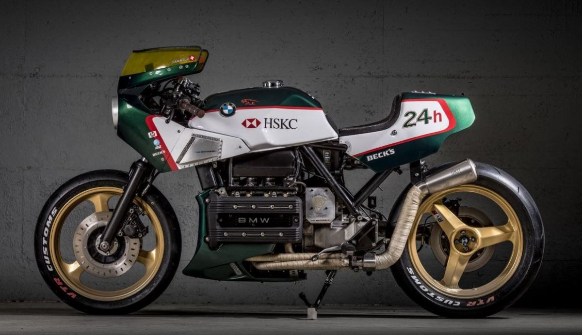"Endurance-Inspired - VTR Customs' BMW K100 ""24 Hour"""