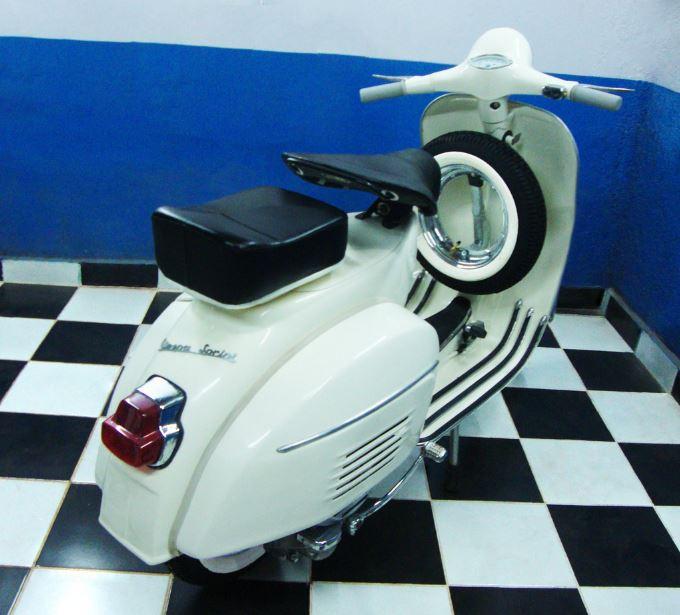 1967 Vespa Sprint 150 Bike Urious