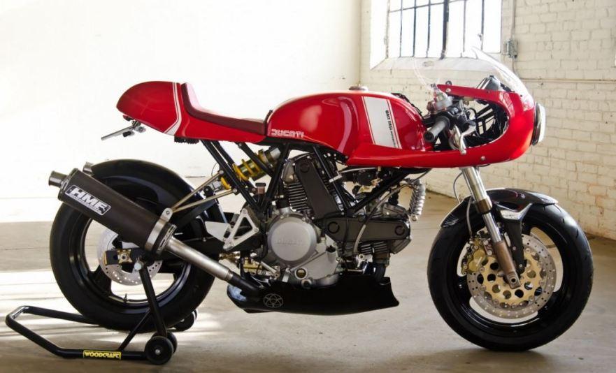 Walt Siegel Ducati Leggero Toronto - Right Side