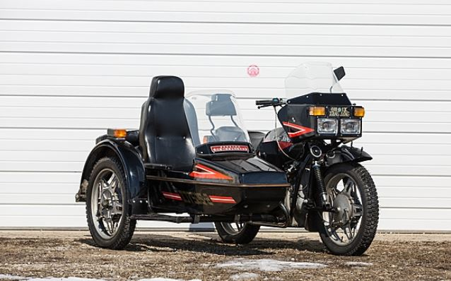 Xiang Jiang 750 with sidecar - Front