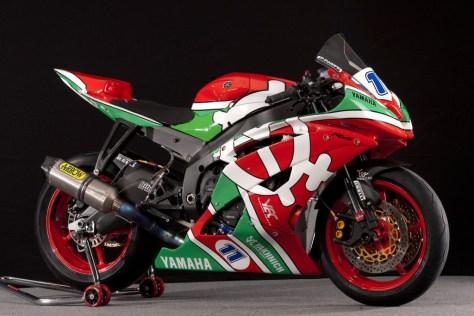 Yakhnich Motorsport Yamaha R6 - Right Side