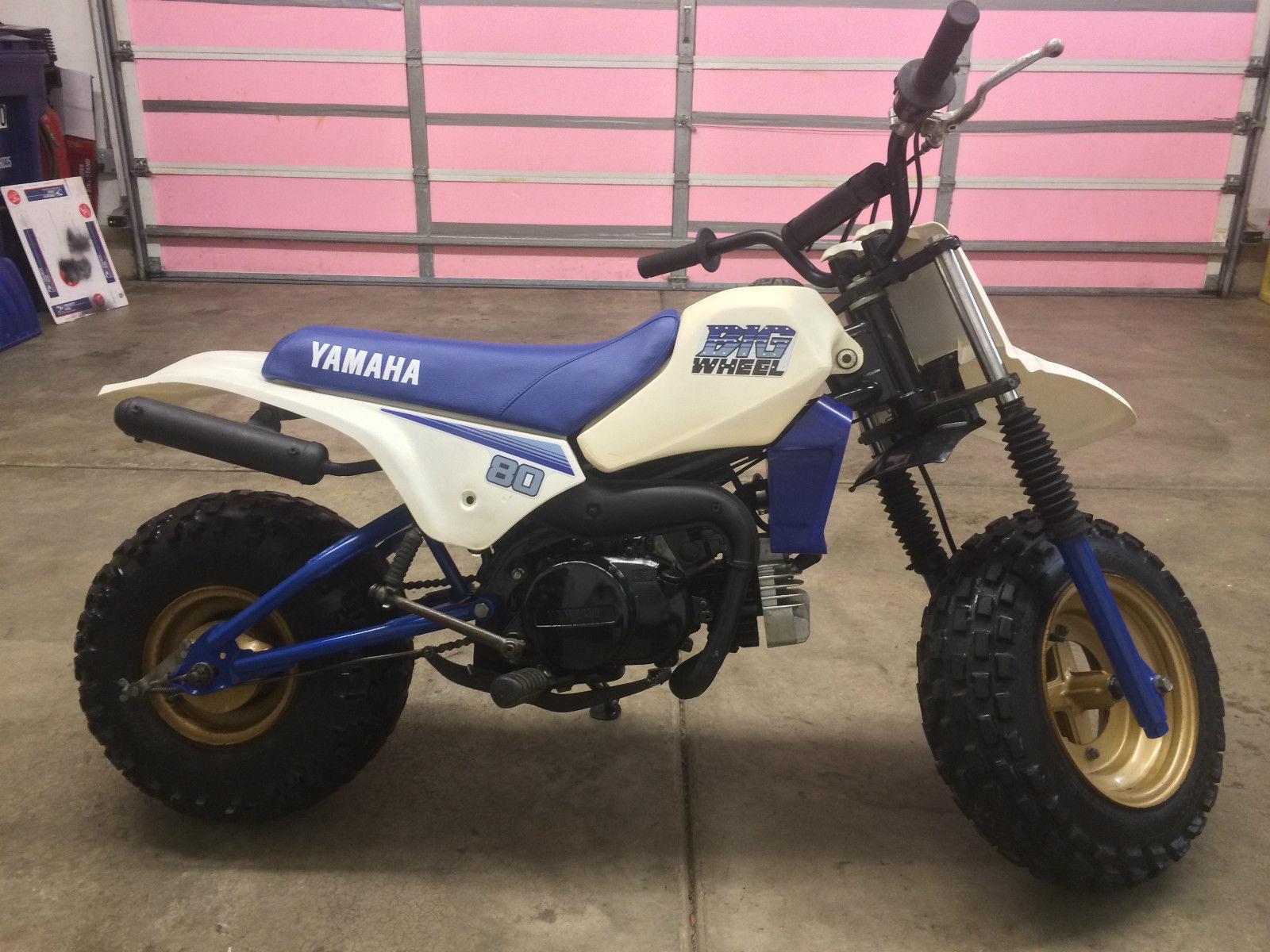 1986 yamaha big wheel bw80 bike urious