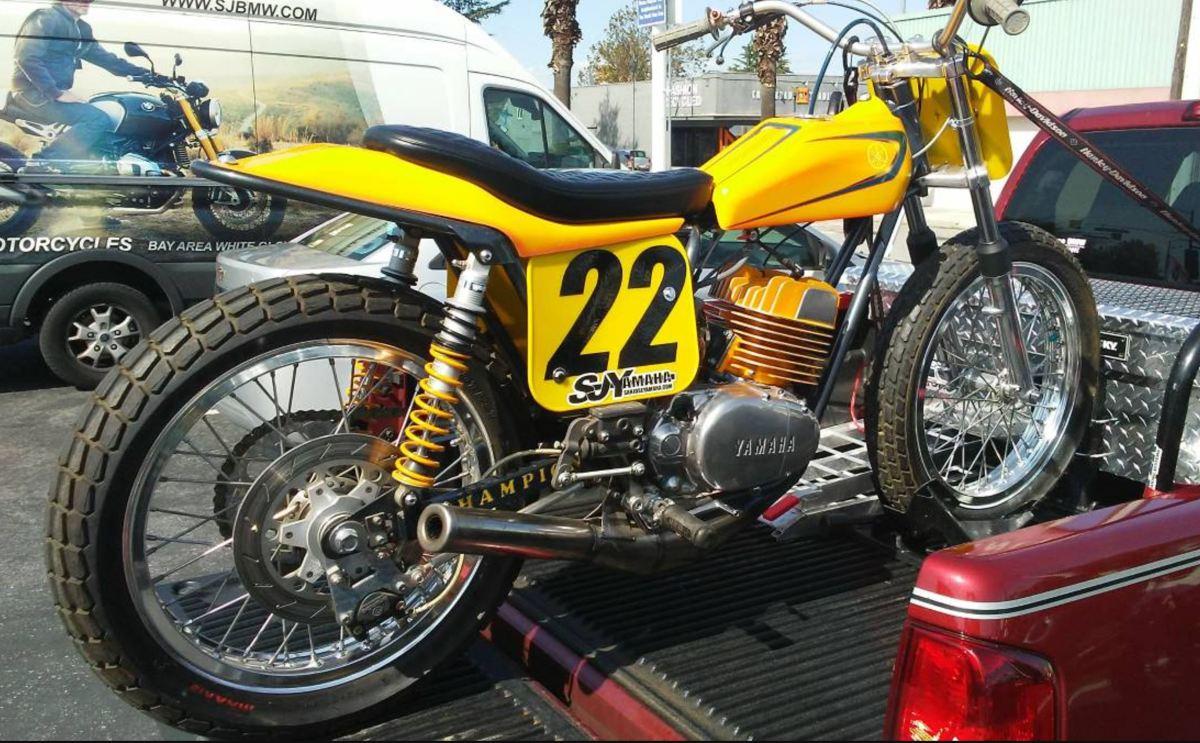 Champion Framed - Yamaha DT250 Flat Tracker