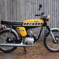 Restored in England - 1976 Yamaha FS1-E