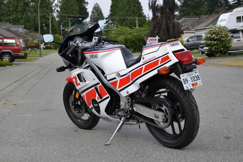 Yamaha FZ600 - Rear