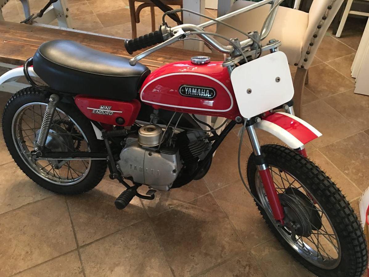 Mini DT1 - 1971 Yamaha JT1 Mini Enduro