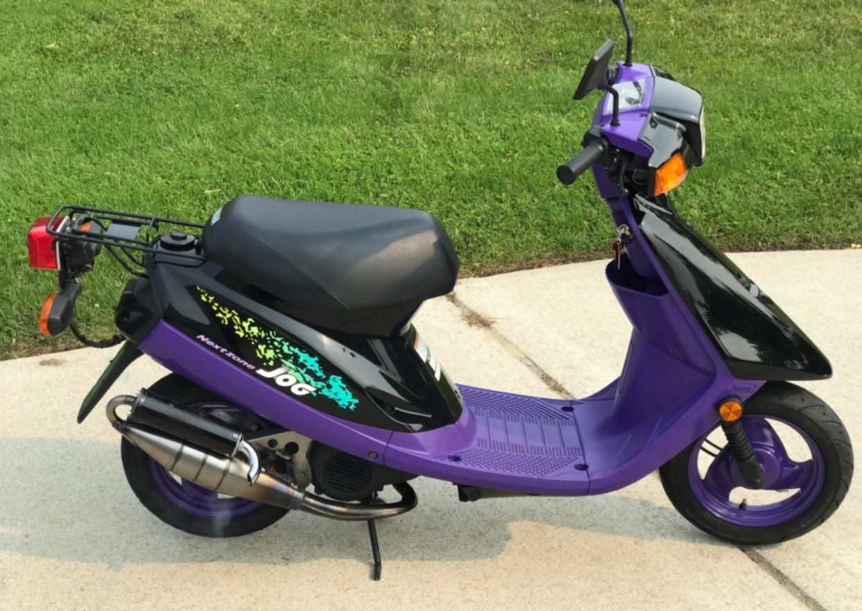 Topmoderne His and Hers – Pair of Yamaha Jog Scooters – Bike-urious SV-95