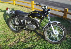 no reserve 1970 yamaha rt1 360 bike urious. Black Bedroom Furniture Sets. Home Design Ideas