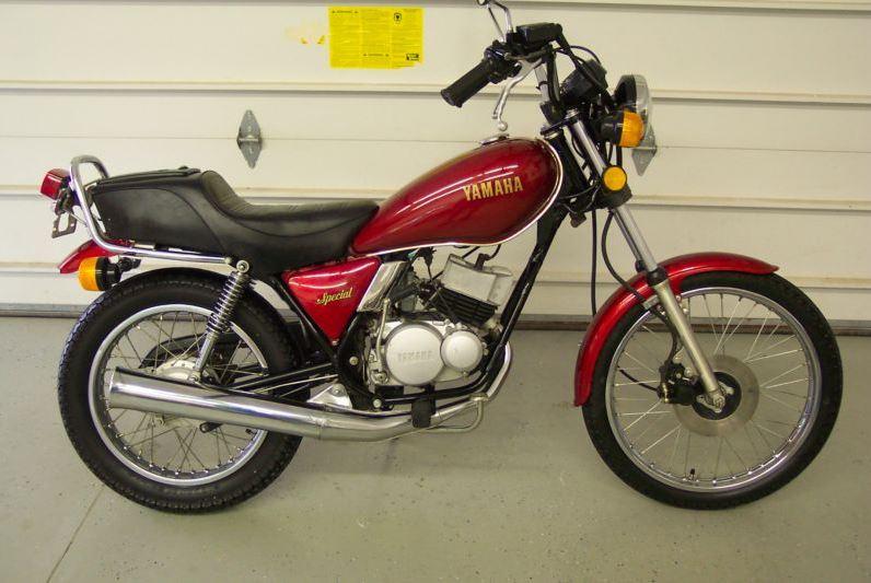 Yamaha RX50 - Right Side