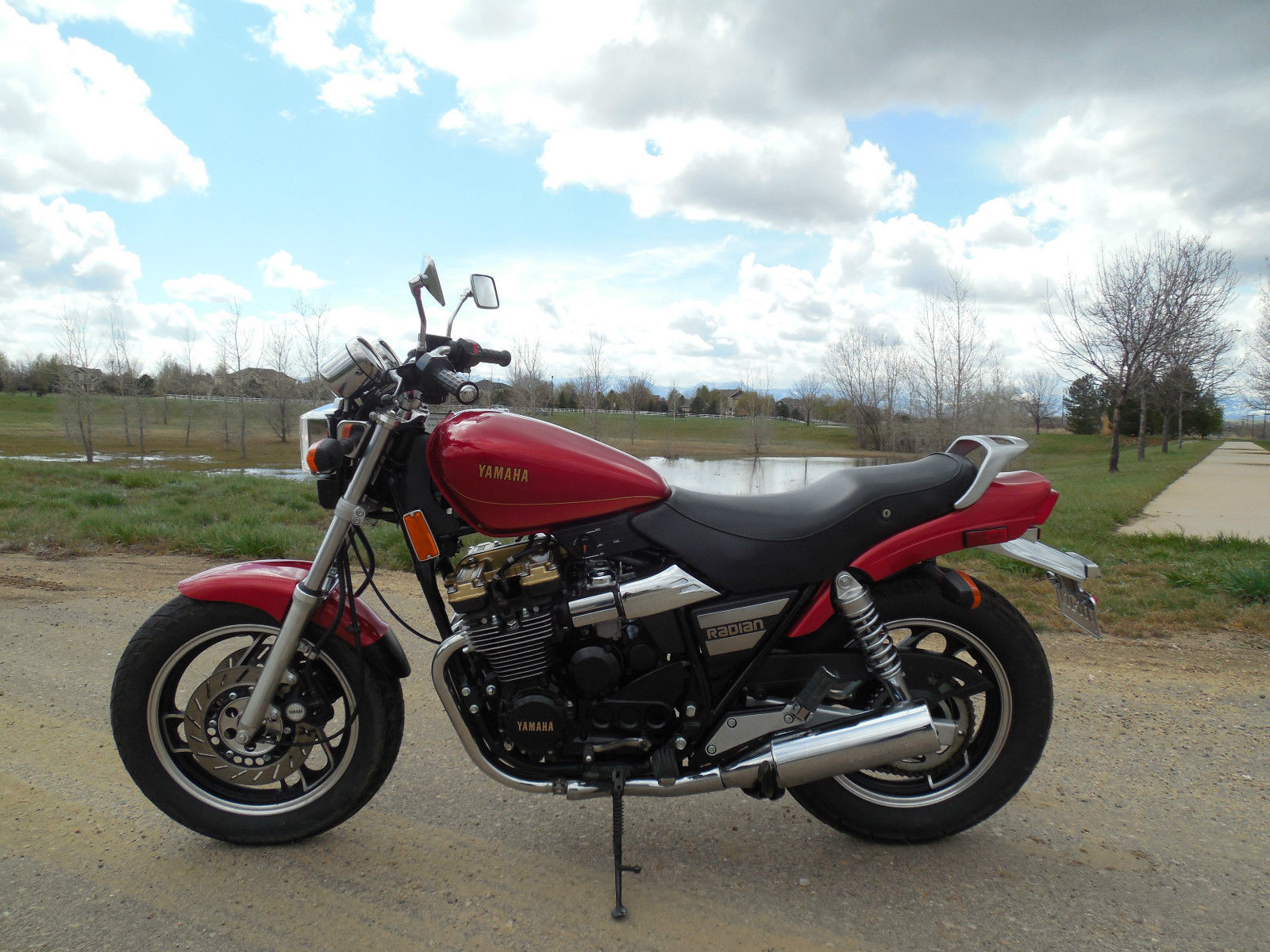 For sale my a great 1986 Yamaha radian 600 yx600 Classic