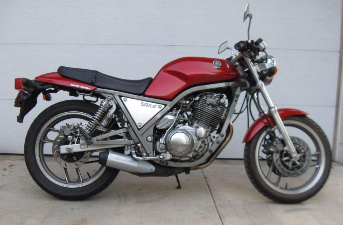 Ending Soon With No Reserve 1986 Yamaha Srx600 Bike Urious