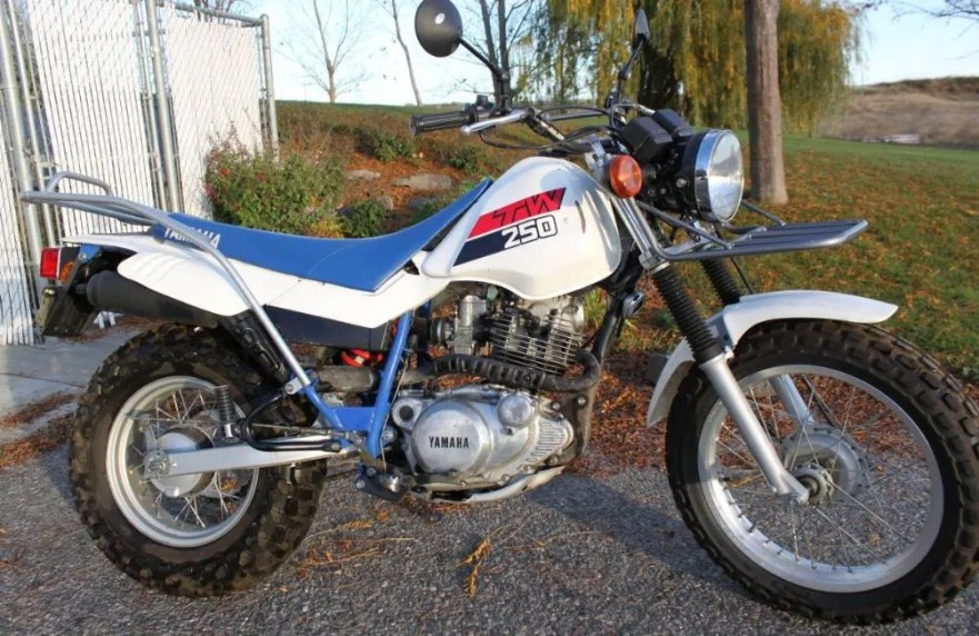 Honda Dual Sport With Electric Start >> SR250 Engine – 1987 Yamaha TW200 | Bike-urious