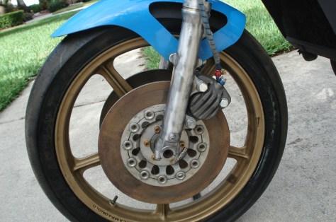 Yamaha TZ350 Nico Bakker - Wheel