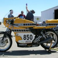 Yamaha XS650 Race Bike