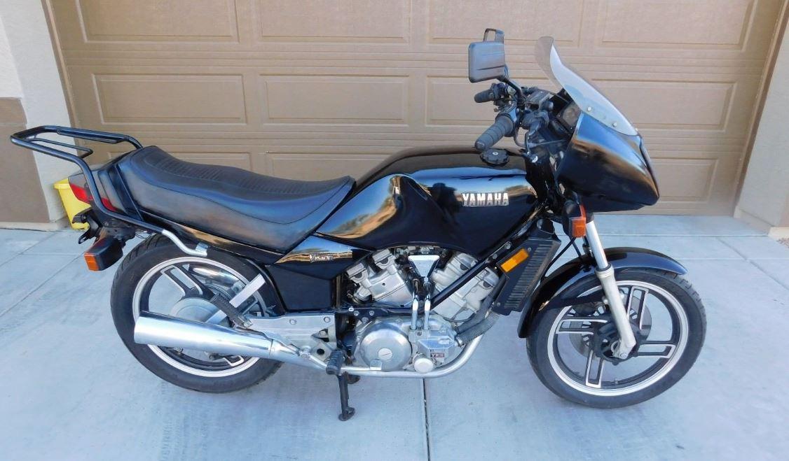 A Vision – 1982 Yamaha XZ550