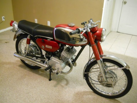 Yamaha YCS-1 180 Bonanza - Right Side