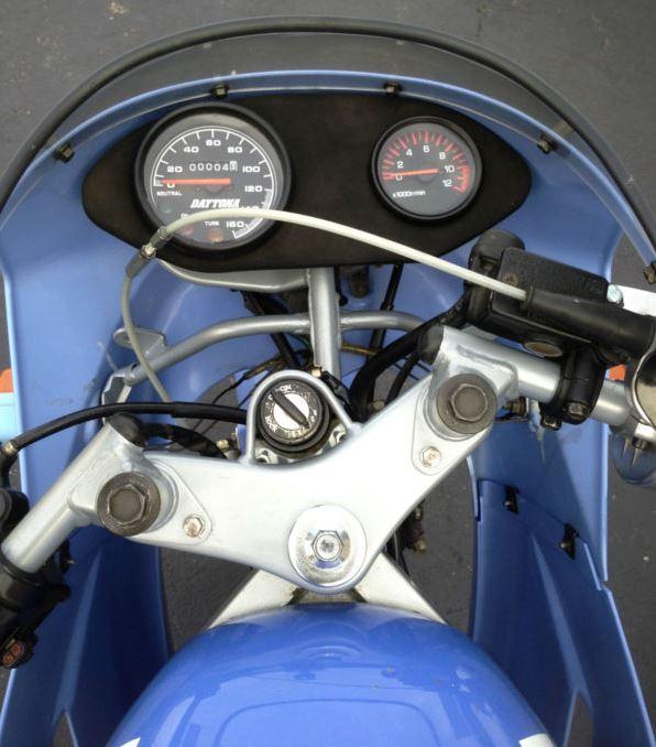 Yamaha YSR80 Tech 21 - Gauges