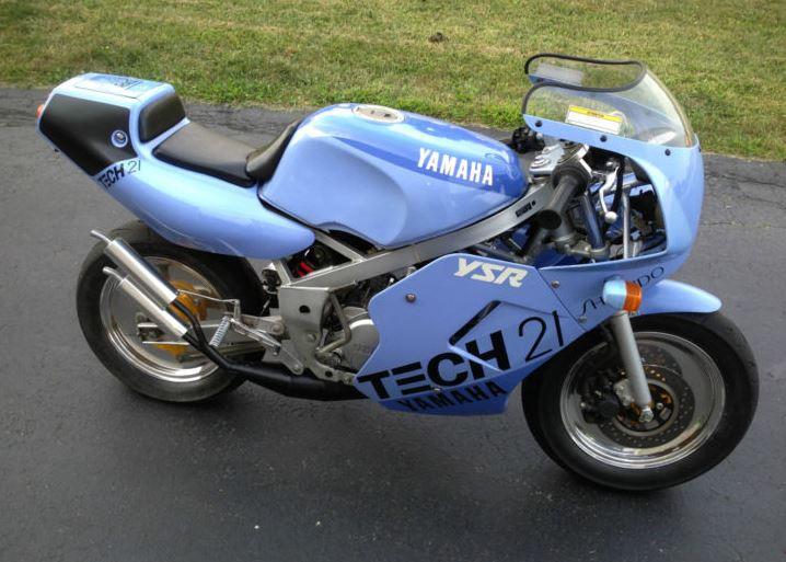 Yamaha YSR80 Tech 21 - Right Side