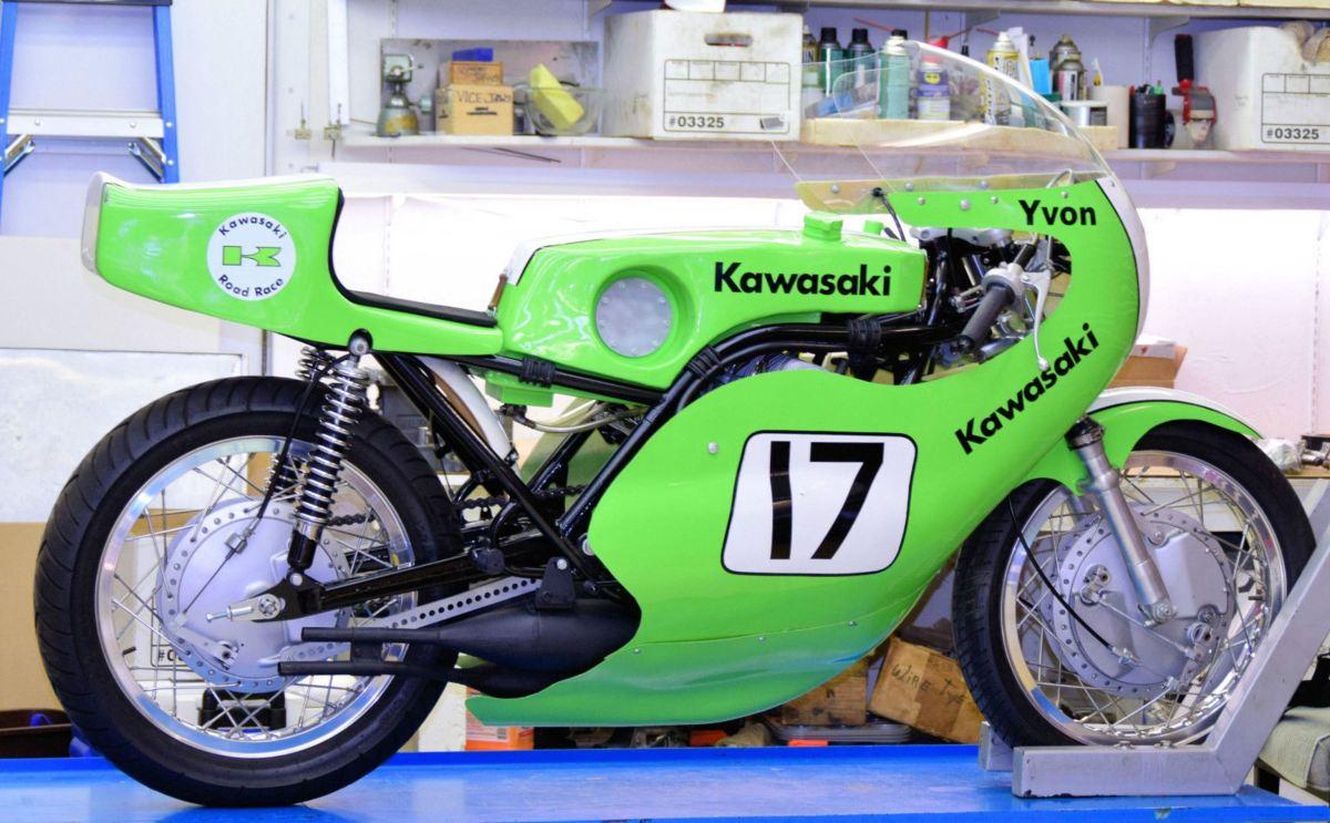 Yvon Duhamel Tribute - 1970 Kawasaki H1R Racer
