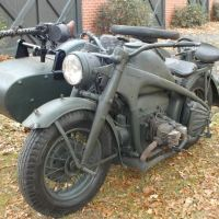 Ex-German WWII Sidecars