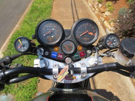 supercharged Honda CBX - Gauges