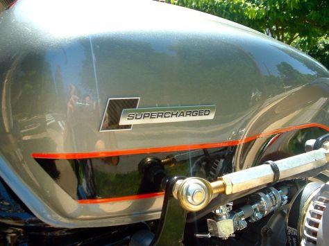 supercharged Honda CBX - Tank