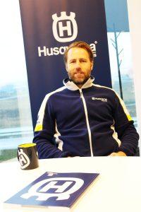Krister Elfving, Brand Manager för Husqvarna Motorcycles i Sverige, Norge och Danmark.