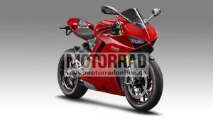 Ducatis V4 är på gång, det vet vi från säkra källor.