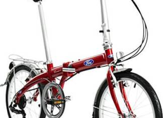 Ford Dahon Convertible 7 Speed Folding Bicycle