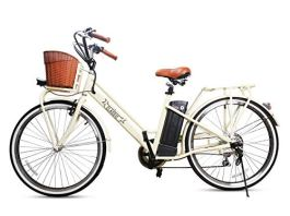 NAKTO Electric Bicycles Adult Comes a Detachable 36V 10Ah Lithium Battery & Battery Charger