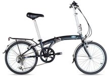 Ford by Dahon C-Max 7-Speed Folding Bicycle, 20, Gray