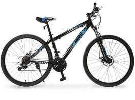 Murtisol Mountain Bike 27.5'' Hybrid Bicycle 21 Speed with SuspensionShimano DerailleurDual Disc Brake