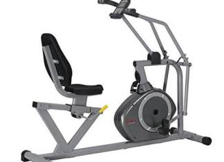 Sunny Health & Fitness Magnetic Recumbent Bike Exercise Bike, 350lb High Weight Capacity - SF-RB4708