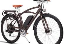 MZZK 700C High Speed Electric City Bike,Ebikes for Men with 750W Powerful Motor