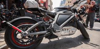 HD Electric Motorcycle