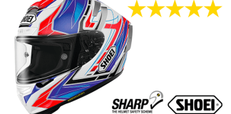 Shoei X-Spirit III Sharp Test