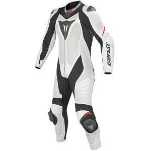 Cheapest Dainese Ladies Laguna Seca Evo P Summer 1 Piece Suit - White / Black / Fluo Red Price Comparison