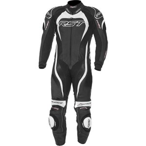 Cheapest RST Kids Tractech Evo 2 One Piece Leather Suit - White Price Comparison