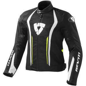 Cheapest Rev'it Airforce Textile Jacket - Black / Neon Yellow Price Comparison