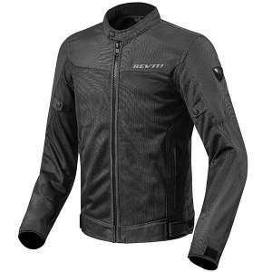 Cheapest Rev'it Eclipse Textile Jacket - Black Price Comparison