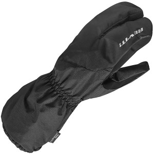 Cheapest Rev'it Spokane H2O Over Gloves - Black Price Comparison