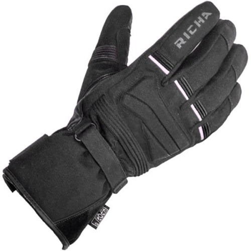 Cheapest Richa Peak Textile Gloves - Black Price Comparison